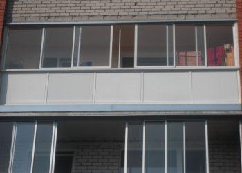 Balkonų stiklinmas